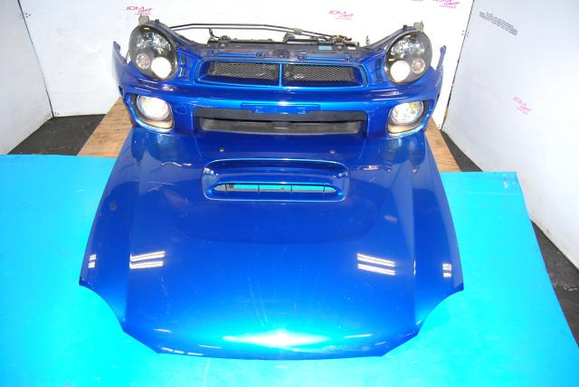 Used Subaru v7 Nose Cut, HID Bugeye Headlights, Ballasts, Foglights, STi Hood with Splitter & Fenders with Side Markers