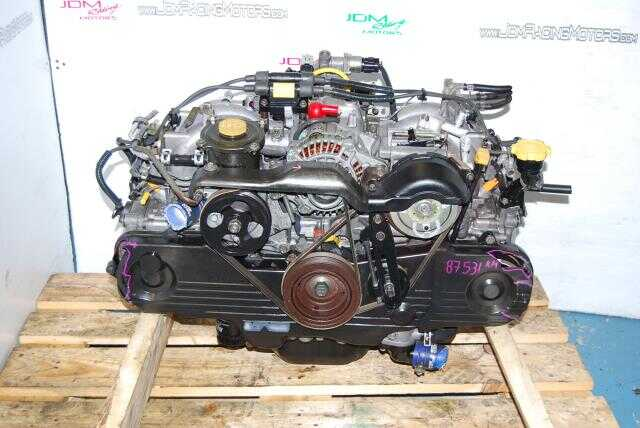 Used Subaru EJ201 Engine, 2.0L SOHC Replacement for 2.5L EJ251 Motor