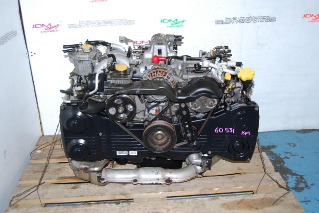 Used Subaru EJ205 Motor, 2.0L DOHC Turbo WRX 2002-2005 Quad Cam Engine