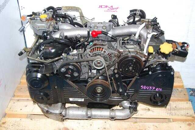 Used Subaru WRX 2002-2005 EJ205 Engine, 2.0L Turbo AVCS DOHC Motor