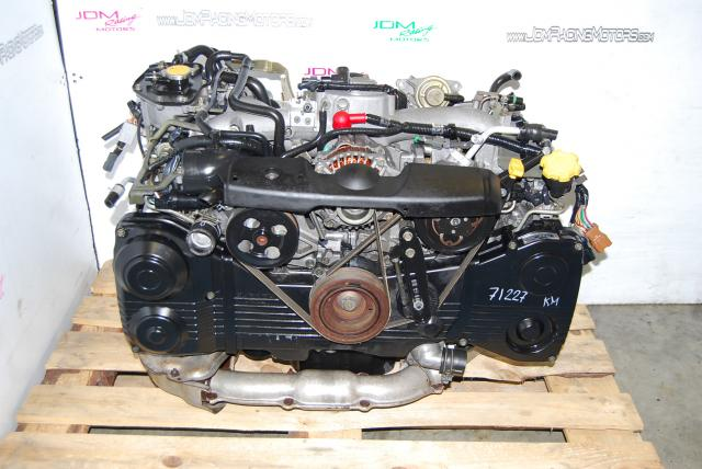 Used Subaru EJ20 Turbo 2.0L Engine, WRX 02-05 AVCS DOHC Motor