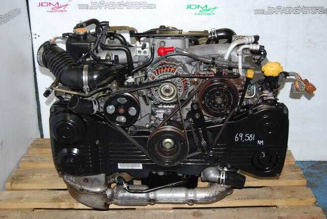 Used EJ20 T AVCS Motor, Quad Cam WRX 2.0L TF035 Turbo Model Engine