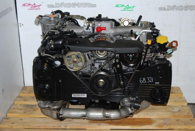 Used Subaru EJ205 AVCS Engine, WRX 2002-2005 DOHC 2.0L Turbo Motor