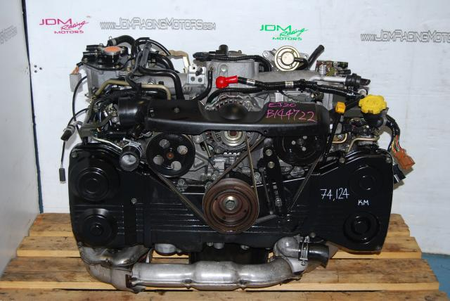 Subaru WRX EJ205 TD04 Turbo Engine, Used 2.0L Quad Cam 02-05 DOHC Engine