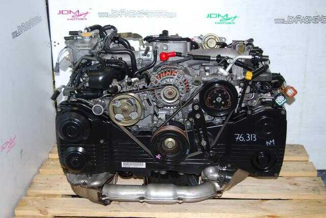 Used Impreza WRX EJ20 Turbo Engine, AVCS 2.0L Quad Cam 02-05 Engine