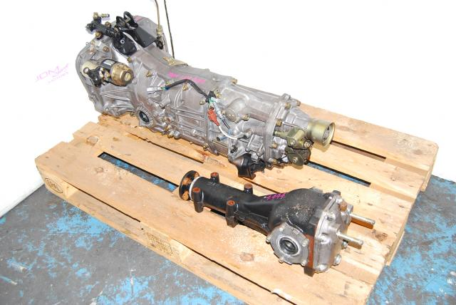 Used Subaru WRX 06-07 TY754VW7AA 5MT, JDM TY755VB7AA 4.444 Transmission
