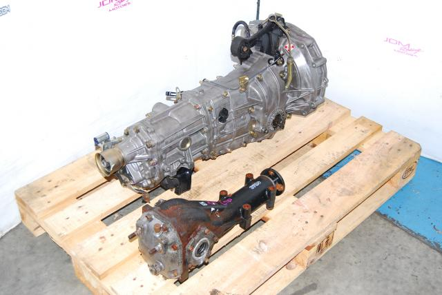 Used WRX 02-04 TY754VV4AA 5MT, JDM TY754VB1AA Transmission & LSD 4.11 Diff