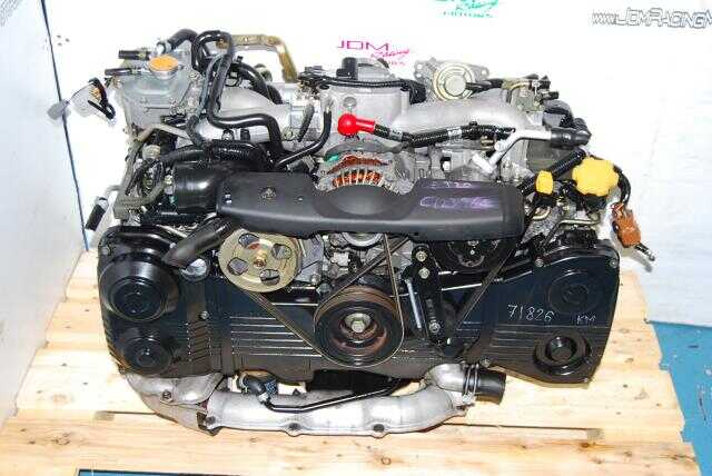 Used Subaru WRX 02-05 EJ20 Turbo Motor, AVCS 2.0L Quad Cam Engine
