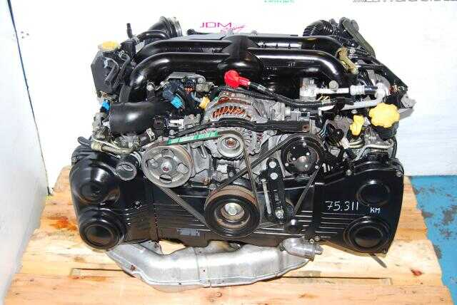 Used Subaru EJ20X Engine, JDM Quad AVCS EJ20Y BP5 Legacy Turbo Motor