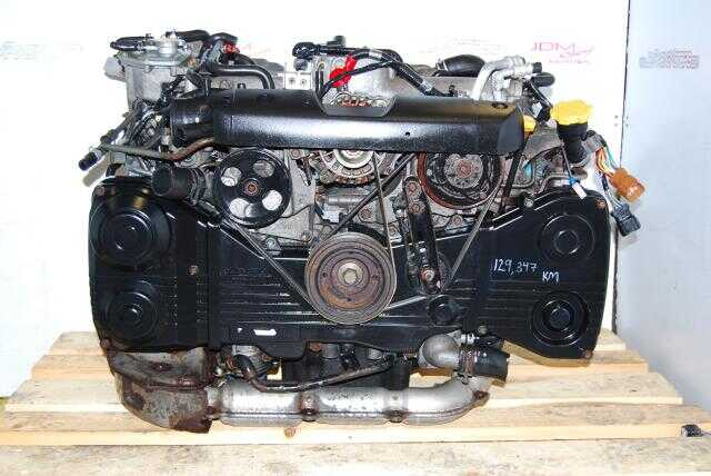 Used Subaru WRX EJ20 Turbo Engine, DOHC 2.0L 02-05 AVCS Motor