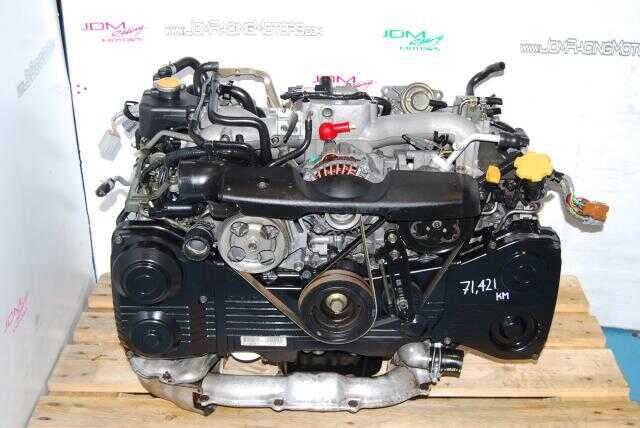 Used WRX 2002-2005 EJ205 2.0L Engine, Quad Cam AVCS EJ20 Turbo Motor