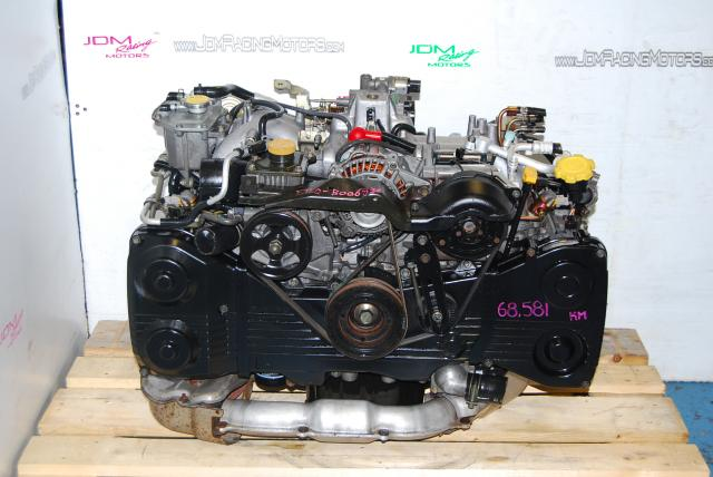 Used Subaru WRX Engine, 2.0L EJ205 02-05 DOHC Turbo Motor