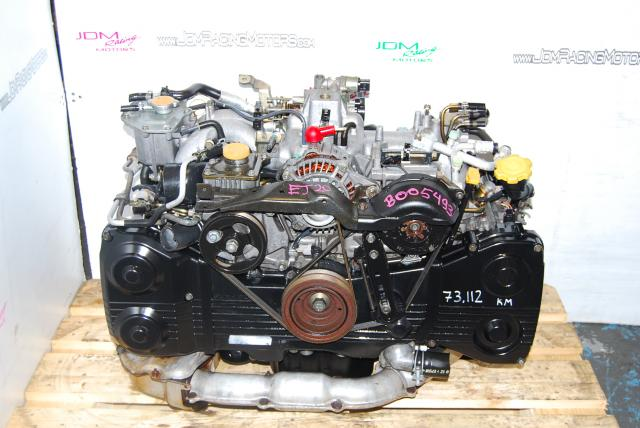 Used Subaru EJ205 Engine, DOHC TD04 Turbo Model Quad Cam WRX Motor