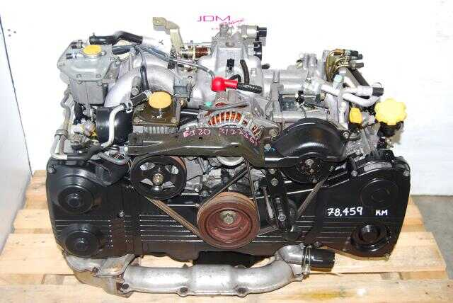 Subaru EJ205 Engine, 2.0L Quad Cam DOHC Turbo WRX 2002-2005 Motor