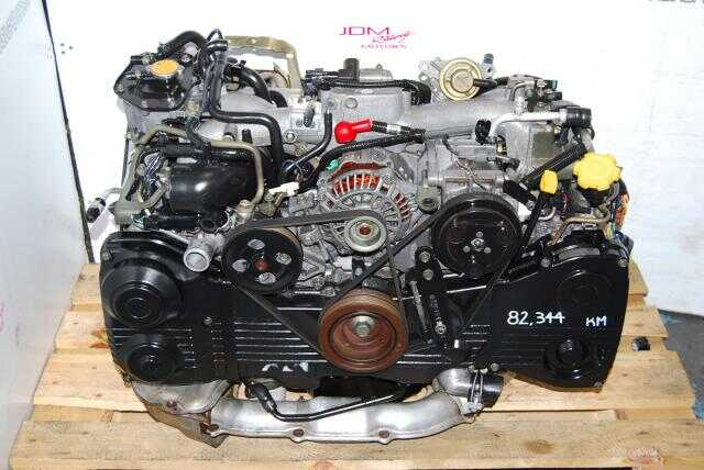 Subaru Impreza WRX EJ205 Engine, DOHC AVCS Turbo Model EJ20T Motor
