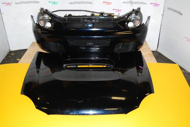 Subaru Impreza v7 Euro Wagon Nose Cut, HID Headlights, One Piece Grill & Fenders with Sidemarkers - Porsche Design