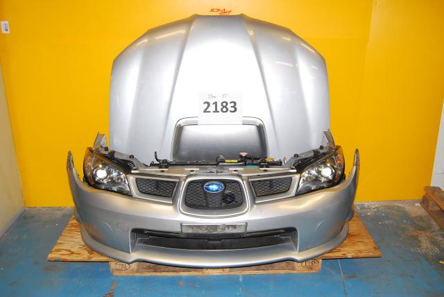 Subaru WRX v9 Nose Cut, Hawkeye Headlights, Fenders, Bumper, Hood Scoop and Grill