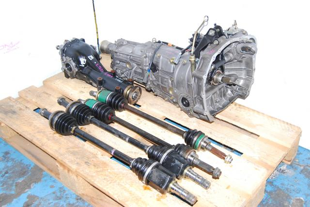 Impreza WRX 02-05 TY754VN2BA 5MT, JDM TY755VB3AA 5 Speed Manual Transmission and LSD Diff