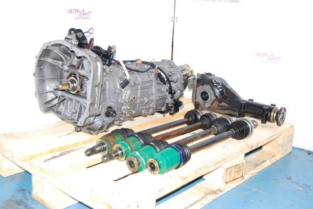Impreza WRX 02-04 TY754VV4AA Manual Transmission, JDM TY754VBBAA 5 Speed 5MT with LSD Differential and Axles