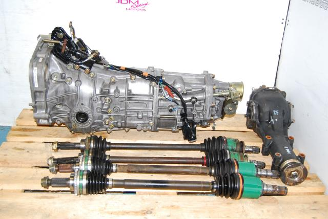 Used Subaru WRX 2002-2005 5 Speed 5MT Manual Transmission USDM Replacement Package with WRX Diff and Axles