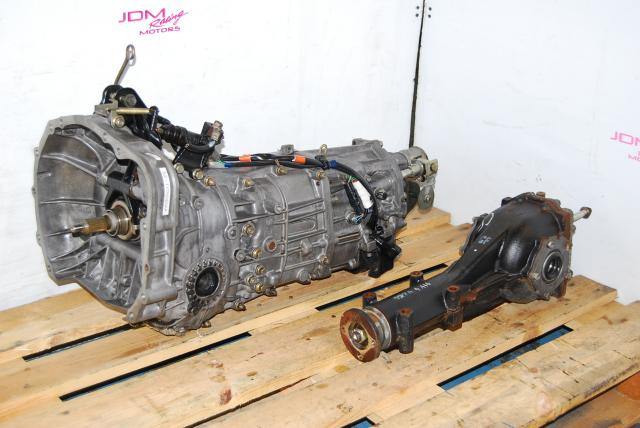 Used Subaru TY755VB3AA Replacement 5MT Transmission for WRX 2005 with Matching Differential