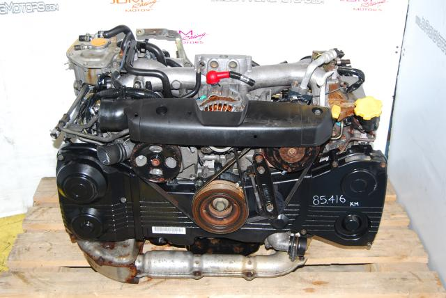 WRX 2002-2005 Motor EJ20 Turbo 2.0L AVCS Model Quad Cam Engine
