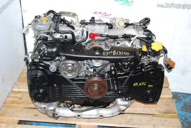 WRX EJ20 Turbo Motor, 2.0L AVCS Quad Cam 2002-2005 Engine