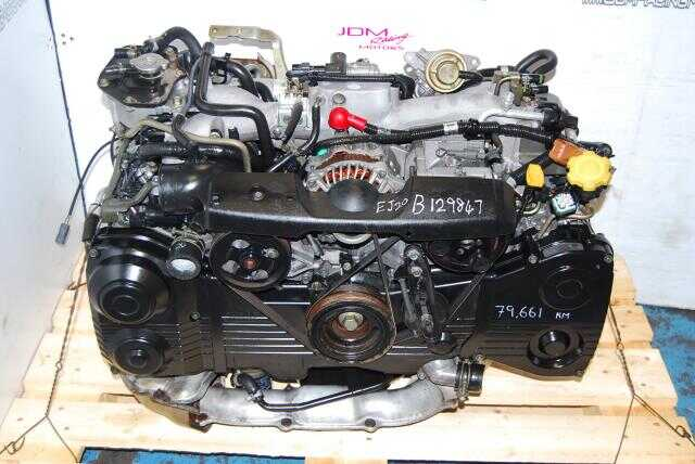 Used WRX Impreza EJ205 Engine, AVCS 2.0L DOHC Turbo Motor