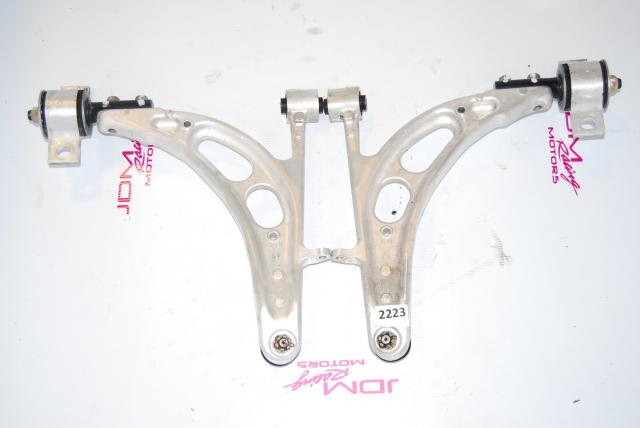 Forester SG5 SG6 SG9 03-08 Front Lower Aluminum Control Arms with Adapter Cones