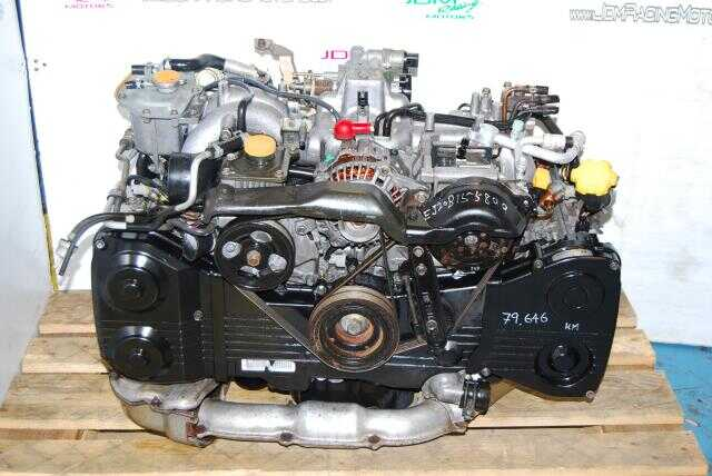 Used EJ20 Turbo Motor, Quad Cam 2.0L DOHC WRX 02-05 Engine