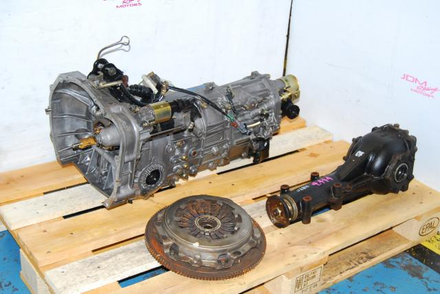 Impreza WRX 2005-2007 TY755VB3AA 5MT, JDM TY754VB6AA Replacement Manual Transmission with 4.444 Differential