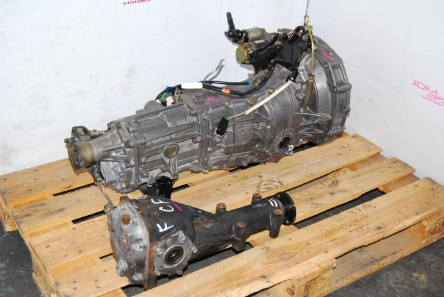 Impreza WRX 2002-2004 TY754VV4AA 5MT, JDM TY754VBBAA 5 Speed Manual Transmission with 4.444 Rear Diff