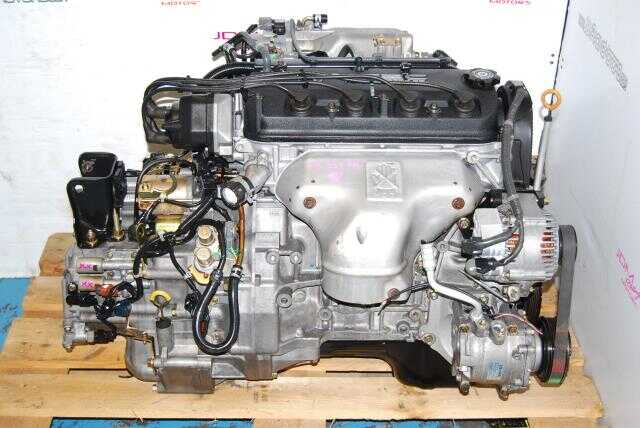 Accord 1998-2002 F23A Motor, 2.3L VTEC CD1 CD2 Engine and Automatic Transmission