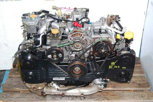 WRX 2002-2005 EJ20 T Motor, Quad Cam 2.0L DOHC Turbo Engine