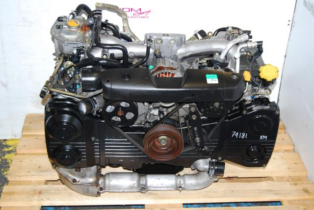 USED WRX EJ205 ENGINE, EJ20 TURBO MOTOR, 2002-2005 GD