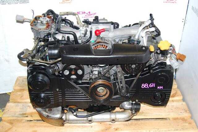 Used Impreza WRX 2002-2005 EJ20 Turbo Motor, DOHC AVCS 2.0L Engine