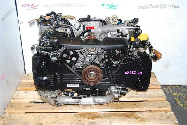 WRX 2002-2005 EJ205 Motor, 2.0L Quad Cam AVCS Turbo Engine