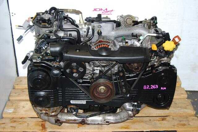 WRX 2002-2005 EJ205 2.0L Engine, Quad Cam AVCS DOHC Turbo Motor