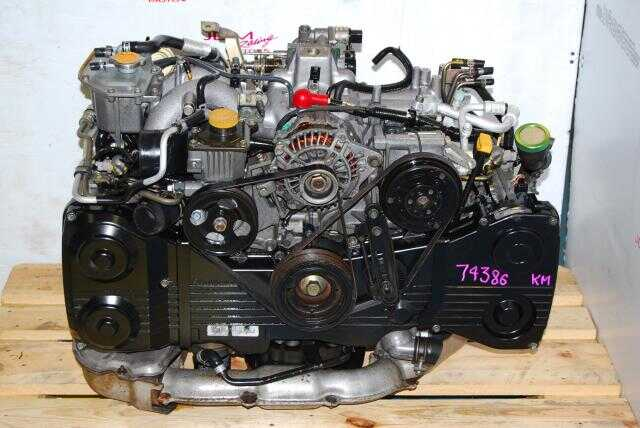 Used Subaru WRX EJ205 Engine 2002-2005 Turbo 2.0L DOHC QUAD CAM