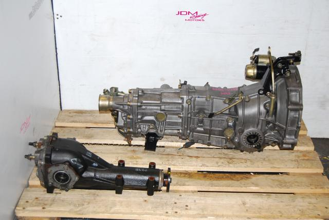 used TY757VBBBB 5 Speed Manual Transmission, Impreza WRX 2008-2011 replacement TY758VC1AA 5MT,  with LSD Rear Differential