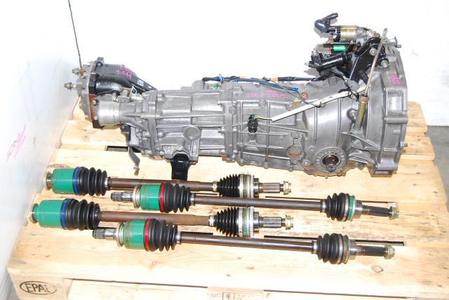 Used Subaru 5 Speed WRX Transmission ty754vbbaa replacement ty754vv5aa