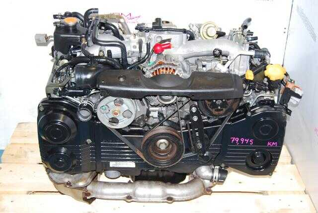 WRX IMPREZA EJ205 ENGINE 2.0L DOHC TURBO MOTOR