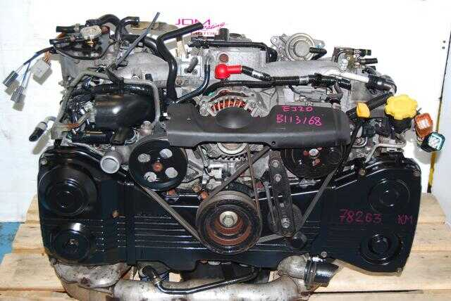 USED SUBARU WRX EJ205 ENGINE - TD04 TURBO - AVCS TYPE
