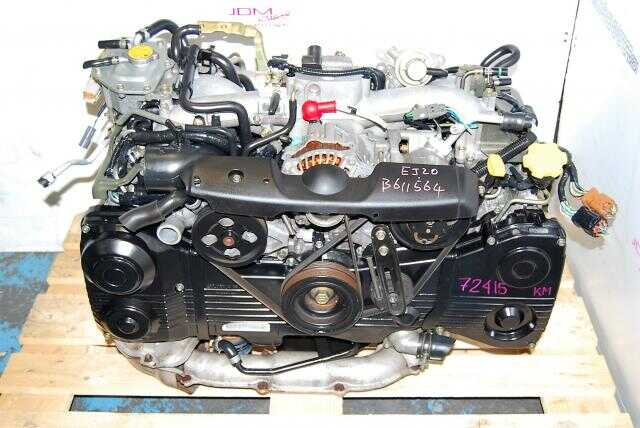 USED EJ205 SUBARU ENGINE - WRX 2002-2005  - TD04 TURBO - AVCS
