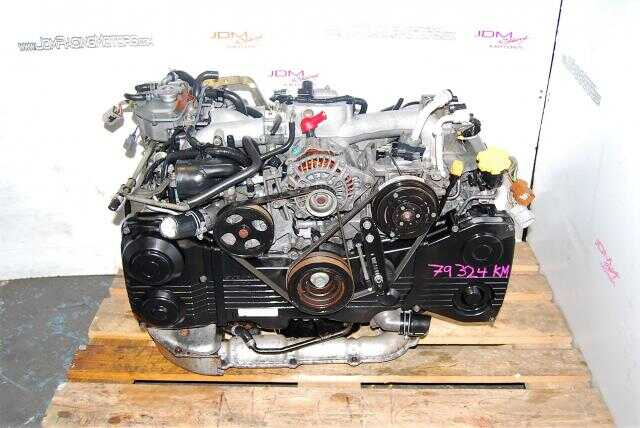 USED 2.0 BOXER ENGINE - SUBARU WRX EJ205 - TF035 TURBO - AVCS TYPE
