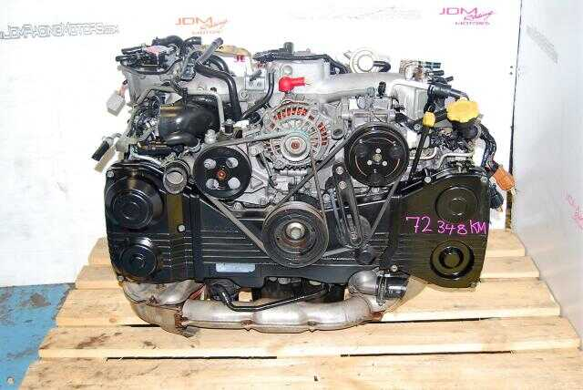 USED ENGINE - SUBARU WRX -  2.0L EJ205 - TD04 TURBO - AVCS MODEL