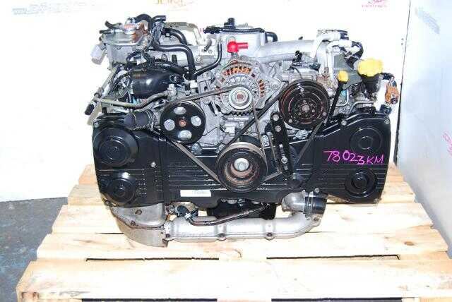 USED WRX ENGINE - SUBARU EJ205 - AVCS TYPE - TF035 TURBO 2002-2005