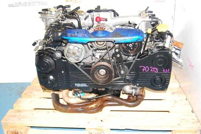 USED EJ205 WRX - EQUAL LENGTH HEADERS - TD04 TURBO - AVCS MODEL