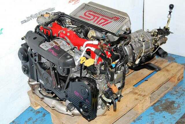 JDM EJ255 FORESTER STI ENGINE, TY856WL4CC 6SPEED TRANSMISSION