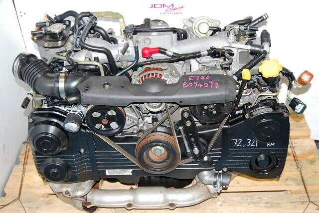 USED SUBARU IMPREZA EJ20 TURBO, 02 03 04 05 WRX  WITH AVCS